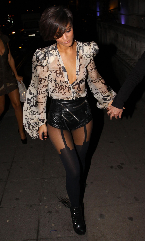 Frankie Sandford Upskirt In The Same Sheer Panty Again Pics Club